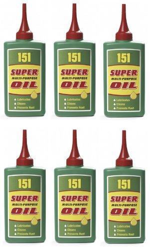 6-x-super-multi-purpose-oil-150ml-lubricates-cleans-prevents-rust