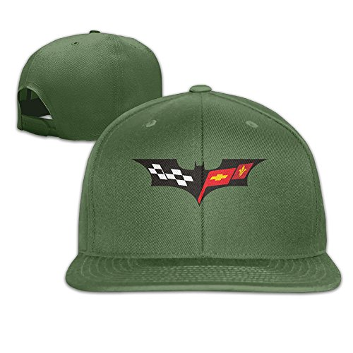 t-ukco-chevrolet-unisex-fashion-adjustable-baseball-cap-hat-forestgreen