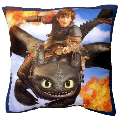 Character How To Train Your Dragon 2 'Toothless' Printed Cushion