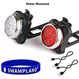 Wiederaufladbare LED Fahrradlampe