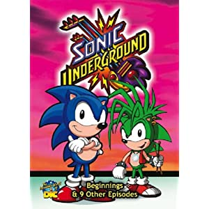 Sonic Underground - Beginnings and 9 Other Episodes [UK Import]