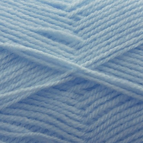 King Cole Big Value Baby DK 100% Acrylic Double Knitting Wool 100g Ball (Sky Blue - 5)