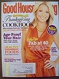 Good Housekeeping November 2010 Keepsake Edition Thanksgiving Cookbook Kelly Ripa Fab at 40