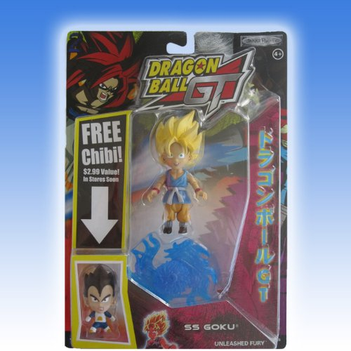 Picture of Jakks Pacific Dragon Ball GT Action Figure: SS Goku - Series 2 (B003T9IWMC) (Dragon Ball Action Figures)