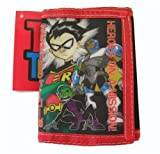 Black and Red Teen Titans Robin Tri-Fold Wallet