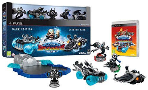 Skylanders SuperChargers Starter Pack - Dark Edition (Collector's Limited)