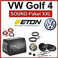 VW Golf 4 Lautsprecher Subwoofer komplette Soundanlage von Eton - Reifen Onlineshop
