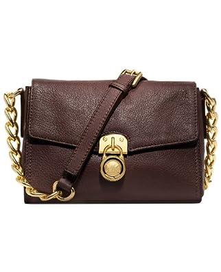 MICHAEL Michael Kors Hamilton Small Messenger CRossbody Bag in Coffee Brown