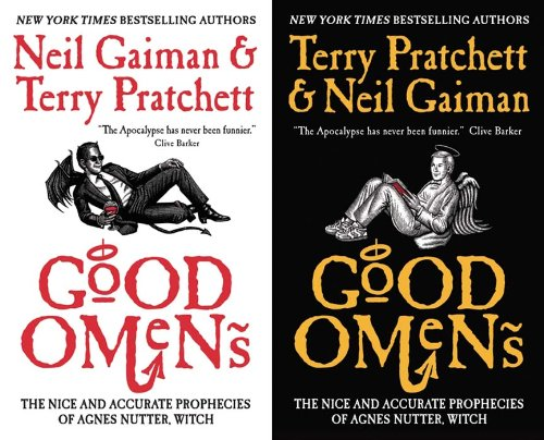 Good Omens Kindle Edition cover on Amazon