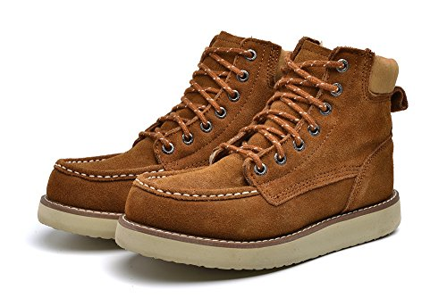 women Men's Air-Tac Shoe Side-Zip Military and Tactical Shoe (Women 7.5 B(M) US/Men 6.5 D(M) US/EU 39, Brown) (Insulated Work Shoes For Men compare prices)