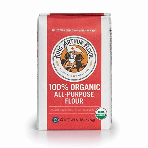 King Arthur Flour 100% Organic Unbleached All-Purpose Flour, 5 Pound (Pack of 6) (King Arthur All Purpose Baking compare prices)