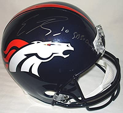 Emmanuel Sanders Signed / Autographed Denver Broncos Full Size Replica Football Helmet