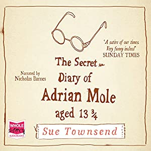 The Secret Diary of Adrian Mole, Aged 13 3/4 Audiobook
