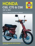 Haynes Manual for Honda C50, C70 & C90 (67 - 03) Including an AA Microfibre Magic Mitt