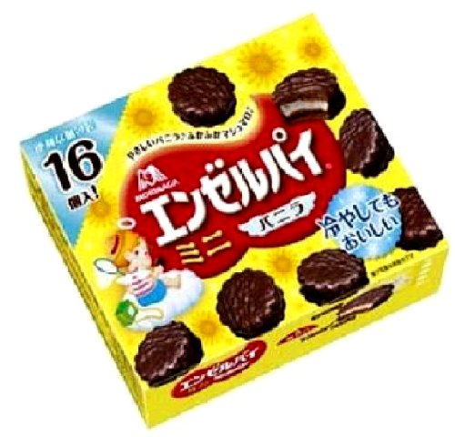 森永製菓 エンゼルパイミニ バニラ 16個×5個