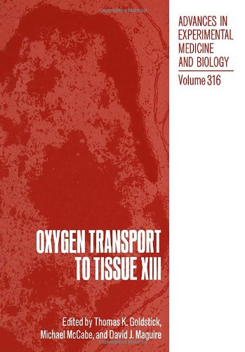 Oxygen Transport to Tissue XIII (NATO Asi Series. Series A, Life Sciences)