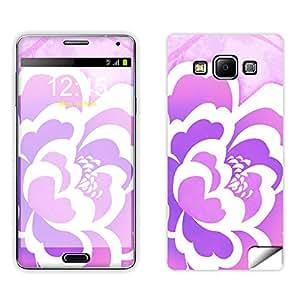 Skintice Designer Mobile Skin Sticker for Samsung Galaxy A5, Design - Flower Love