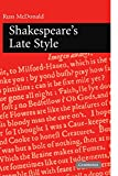 Shakespeare's Late Style (0521129621) by McDonald, Russ