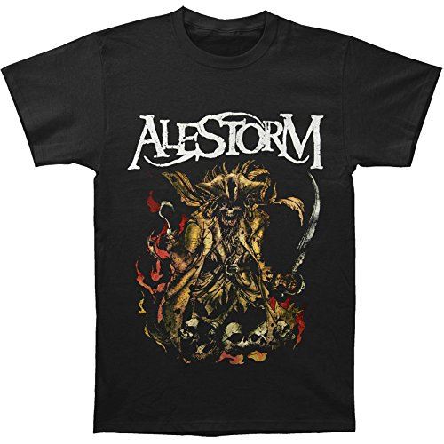 Michaner Walosde Alestorm Men's We Are Here To Drink T-shirt Black Large