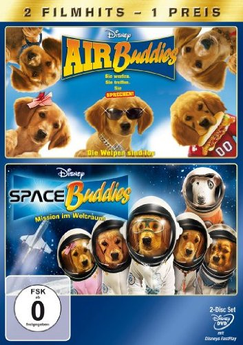 Space Buddies / Air Buddies [2 DVDs]