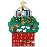 Kubla Crafts Nativity Fabric Advent Calendar
