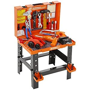 The Home Depot Carrying Case Workbench Toys Games
