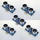 ZPS 5x Ultrasonic Module Hc-sr04 Distance Measuring Transducer Sensor for Arduino