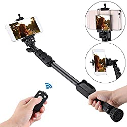 Life Like VCT-388 BLUETOOTH SELFIE STICK WITH REFLECTING MIRROR