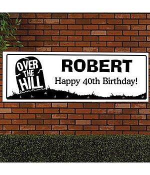 Personalized Oversized Birthday Banner Personalized Oversized Ft