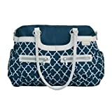 JJ Cole Satchel Diaper Bag, Navy Arbor