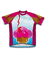 Creamy Delight Short Sleeve Cycling Jersey for Women