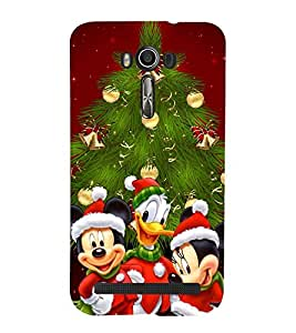 Vizagbeats christmas tree Back Case Cover for Asus Zenfone 2 Laser ZE550KL::Asus Zenfone 2 Laser ZE550KL (5.5 Inches)