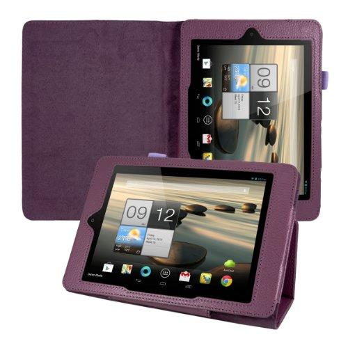 kwmobile Hülle für Acer Iconia A1-810 / A1-811 mit Ständer - Kunstleder Tablet Case Cover Tasche Schutzhülle in Violett