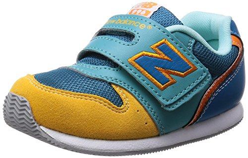 The new balance new balance kids shoes FS996 NB FS996 SGI (SAFFRON/GREEN/16.5)