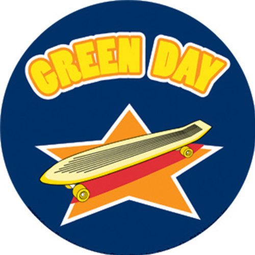 Licenses Products Green Day Skate Sticker