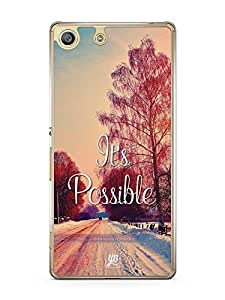 YuBingo It's Possible Designer Mobile Case Back Cover for Sony Xperia M5