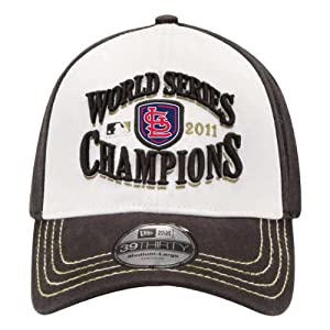 MLB ST LOUIS CARDINALS 2011 WORLD SERIES CHAMPS CHAMPIONSHIP LOCKER ROOM HAT CAP