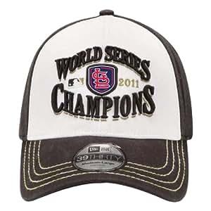 MLB ST LOUIS CARDINALS 2011 WORLD SERIES CHAMPS CHAMPIONSHIP LOCKER ROOM HAT CAP