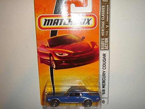 2009 Matchbox Heritage Classics '68 Mercury Cougar Blue #8 - 1