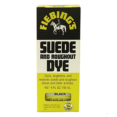 Fiebing Suede & Rought out Dye 4 oz Color - (Black) (Dye For Boots compare prices)