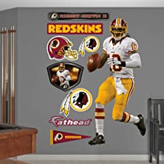 NFL Washington Redskins Robert Griffin III Away Wall Graphics by Fathead
