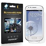 6 x Membrane Pellicola Protettiva Samsung Galaxy S3 Mini Value Edition (i8200) - Antiriflesso (Opaca), Confezione...