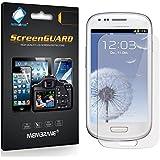 6 x Membrane Films de protection écran Samsung Galaxy S3 Mini Value Edition (i8200) - Anti-Reflet (Mat) autocollants, Emballage et accessoires
