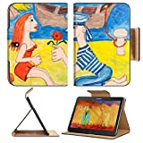 Samsung Galaxy Tab Pro 10.1 Tablet Flip Case Knelling man courtship a beautiful woman IMAGE 35759975 by MSD Customized Premium Deluxe Pu Leather generation Accessories HD Wifi Luxury Protector