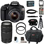Canon EOS Rebel T5 DSLR Camera with E...