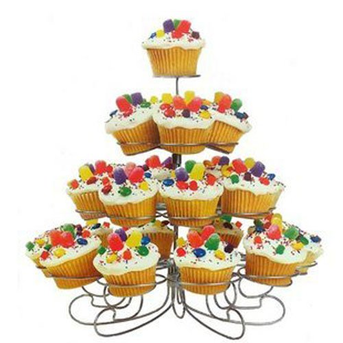 Christmas Tree Four Tier Cake Stand,cake Holder,party Cupcake Tray, Wedding Cake Stand and Display,dessert Stand