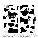 Xperia Z5 501SO 手帳型 ケース [デザイン:16.NY・牛柄] ニューヨークヤンキース xperiaケース スマホ スマートフォンカバー