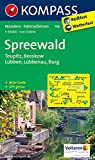 Spreewald - Teupitz - Beeskow - Lübben - Lübbenau - Burg: Wanderkarte mit Aktiv Guide und Radwegen. GPS-genau. 1:50000