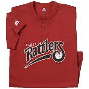 Wisconsin Timber Rattlers Two-Button Minor League Replica Jerseys by Authentic Sports Shop