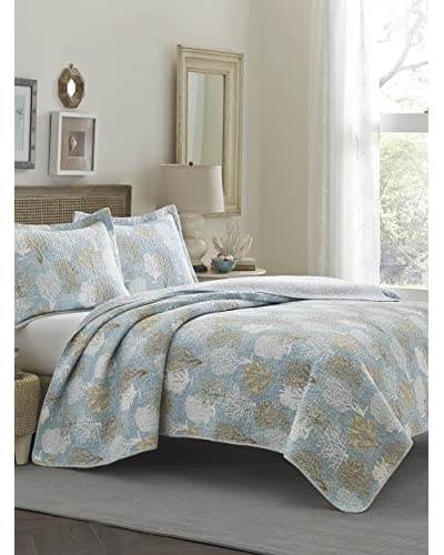 Laura Ashley Pearl Quilt Set